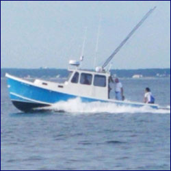 Fishing the south side of Cape Cod with Bluefin Charters