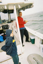 family trip with Bluefin Charters